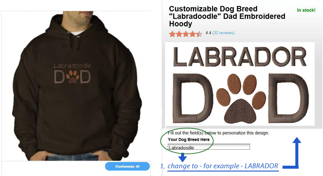 inktastic Live Love Labradors Long Sleeve Creeper