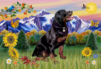 Rottweiler Mountain Country