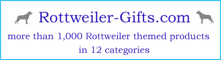 rottweiler art, gifts and collectibles