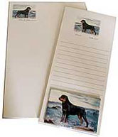 rottweiler stationery gift pack