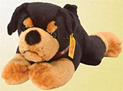plush stuffed rottweiler toy